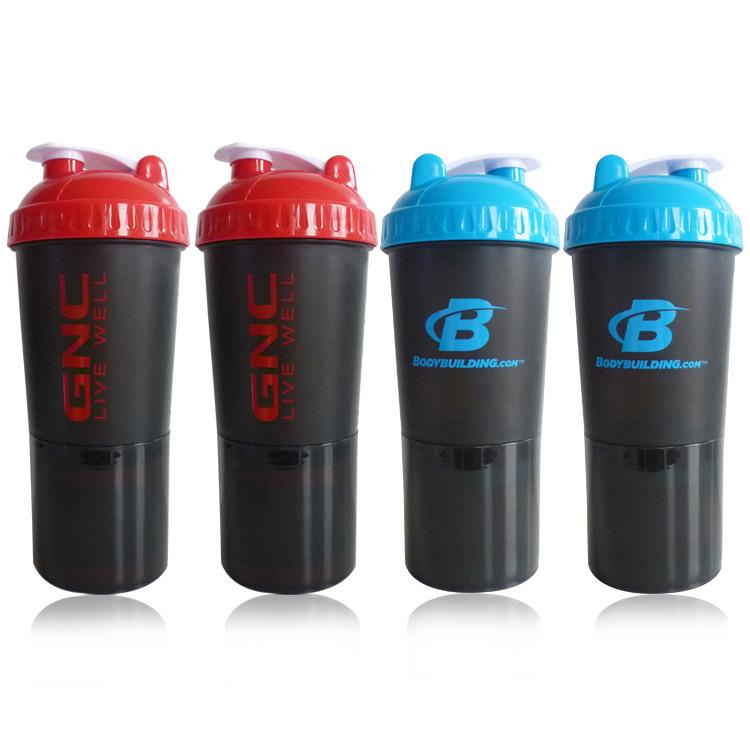 custom logo shaker bottle, promotional blender bottle