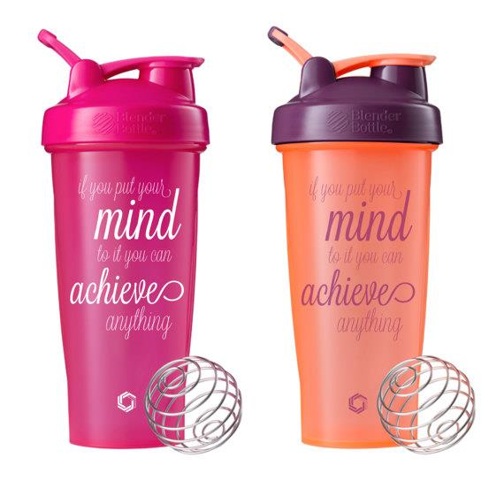 protein shaker bottles with spring ball
