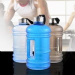 2.2L PETG material Dumbbell fitness kettle/Dumbbell water bottle