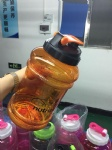 Plastic Water Bottle 2.2L with Side Bandle