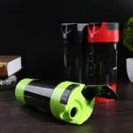 plastic protein shaker cyclone bottle