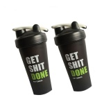 plastic protein shaker bottle with customized logo