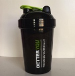 500ML protein shaker blender bottle