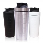 wholesale custom stainless steel insulated sport protein shaker bottle