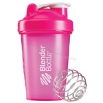 pink blender bottle