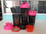 3 in one protein shaker bottle OEM factory