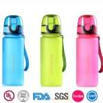 Unbreakable Frost Plastic Drink Bottle