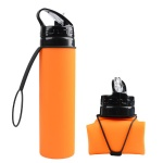 Foldable Leakproof Water Bottle FDA Approved Sports Bottles