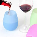 Promotional Silicone Wine Cup