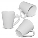 12 oz white Ceramic Latte Sublimation Mug Cup