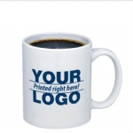 Custom Promotional Gift Ceramic Mug Cup With Logo