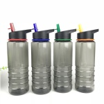 600ml Plastic Sports Water Bottle with Straw600ml Plastic Sports Water Bottle with Straw