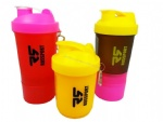 Plastic Sports Protein Shaker Blender Bottle