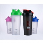 400ML 600ML plastic shaker sports bottle for wholesales