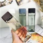 420ml square pillar design square shaped water bottle tritan water bottle