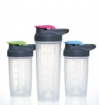 New Eco-friendly PP Plastic Protein Shaker bottle with custom logo