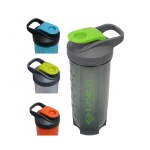gym Plastic protein shaker bottle