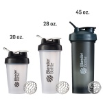 45OZ custom logo mixing water drink 1000ml gym blender protein shaker bottle plastic portable blender shaker bottle