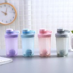500Ml Protein Powder Shake Cup Plastic Fitness Shaker Sports Bottle