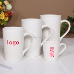 custom logo printed ceramic cup