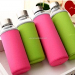 Borosilicate Glass Sports Water Bottle