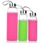 Wholesale glass sports water bottle