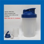 500ml custom logo shaker smart cup
