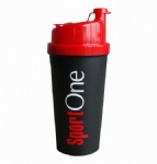promotion plastic protein drinking shaker cup