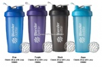 16oz/400ml custom drink shaker bottles with blender ball and handle wholesale