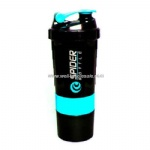 Wholesale 600ml protein shaker bottles shaker spider bottle