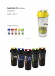 BPA Free Custom Logo Spider Shake Bottle