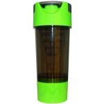 500ml cyclone cup with strainer protein shaker bottle bpa free