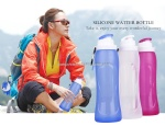 Silicone Foldable Water Bottle Sport Products