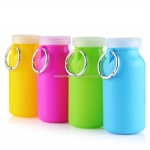 silicone water bottle foldable water bottle