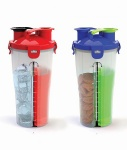 Eco-Friendly,100% BPA free Dual Shaker Cup