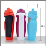 PE Plastic drinking bottle/plastic sport drinking water bottle