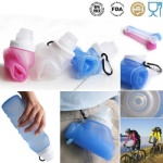 Foldable Silicone Portable Water Bottle