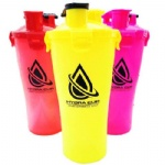wholesale BPA free dual protein shaker bottle