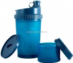 25oz/700ml sports fitness protein blender shaker