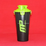 BPA Free Twin Pack Blender Protein Shaker Bottle