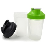 Mini design small blender bottles wholesale with steel ball-OEM