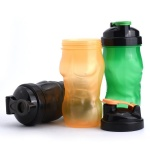 Plastic protein shaker bottle bpa free, shaker cup factory directly